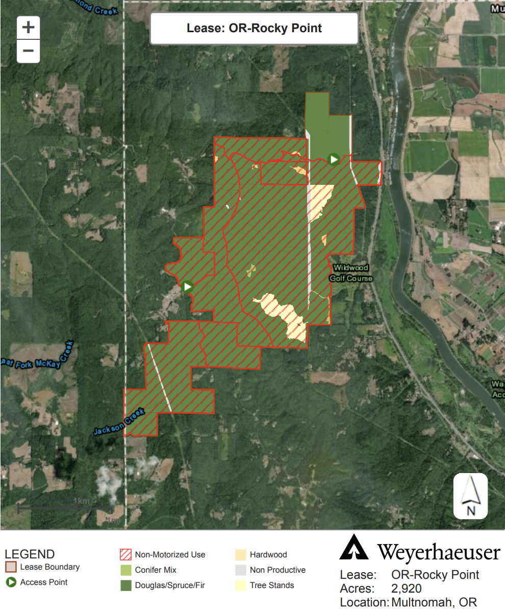 NW Trail Alliance signs lease to manage 3,000-acre parcel north of