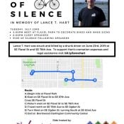 Ride of Silence for Lance Hart