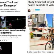 The Monday Roundup: NYC's emergency, on-bike cameras, and more