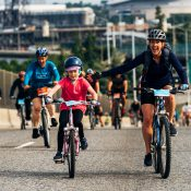 Bridge Pedal lures riders of all types to carfree highways
