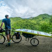 Film chronicles Portland duo's ride to the coast with surfboards in tow