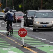 First look at new bike lanes and other updates to NE 102nd Ave