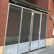 Pearl District building owner violated city code by blocking bike racks with locked gates