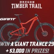 Oregon Timber Trail Fundraising Party Bike Giveaway