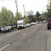 Lombard bike lane project now includes key signal upgrade at Delaware