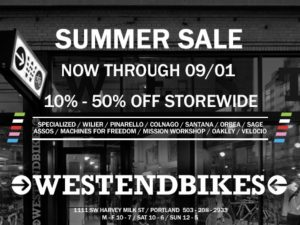 West End Bikes Sale