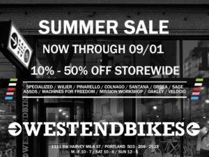 West End Bikes Sale