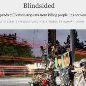 "Willamette Week: Portland's Vision Zero efforts ""not working"""
