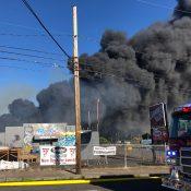 Fire near Rocky Butte damages Lumberyard Bike Park