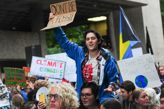 Photos and thoughts from a powerful Climate Strike