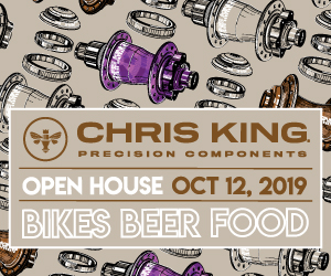 Chris King Open House October 12th
