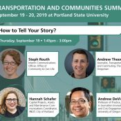 How to Tell Your Story (panel discussion)