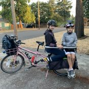 Family Biking: Two tweens on a family bike (part one)
