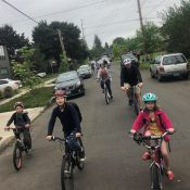 Family Biking: Volunteer for new middle-schooler community rides