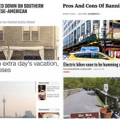 The Monday Roundup: Profiling, transit victory, bad drivers, e-bikes and more