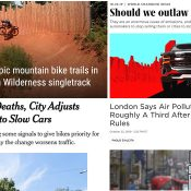 The Monday Roundup: Urban trails, SUVs suck, go big or go home, and more