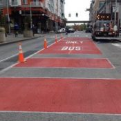 With key federal approval, Portland is 'full steam ahead' on bus lane project