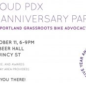 Bike Loud 5th Anniversary Party