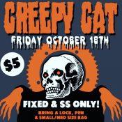 Creepy Cat Alleycat