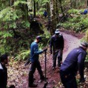 Sandy Ridge Trail Work Day