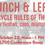 Lunch & Learn: Bicycle Rules of the Road Clinic