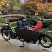 Family Biking: How to fit two tweens on a family bike (the end)