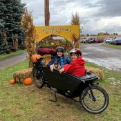 Family Biking: Thoughts on carrying tweens and biking less