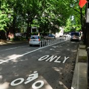 Portland's cheap and easy bus lane projects are working well