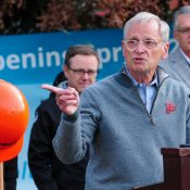 At groundbreaking, Blumenauer says new carfree bridge over I-84 is part of bike-friendly legacy