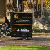 UPS teams with Portland State and City of Portland for e-trike delivery pilot