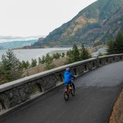 Riding the newest section of the Historic Columbia River Highway State Trail (Photo Gallery)