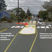 Citing pushback, PBOT says no to NE 9th diverter