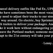 Comment of the Week: A powerful critique of the Portland Freight Committee
