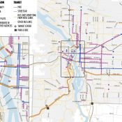 Here are the 20 bus routes in Portland's new 'Rose Lane Vision'