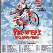 35th anniversary tour of 'Pee-Wee's Big Adventure' will start in Portland