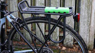 ulock laced through bike rack