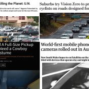 The Monday Roundup: Flight shaming, phone detection cams, bicycle insurance and more