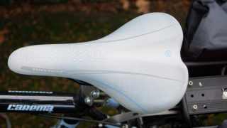 white road bike saddle