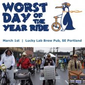 Worst Day of the Year Ride