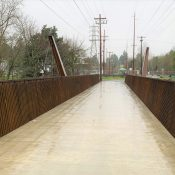 New bridge on Springwater Corridor to open January 15th