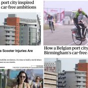 The Monday Roundup: Cities without cars, The Paris Way, headwind cycling, and more