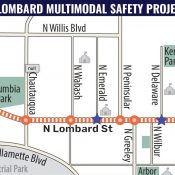 Lombard Safety Project Open House (ODOT)