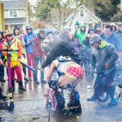 Mayhem on mini bikes at 13th annual Chariot Wars competition (Photo Gallery)