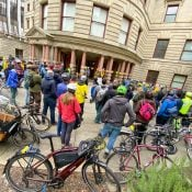 Bike Plan birthday rally celebrates past with eye toward future