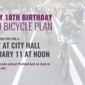 One decade in, Bike Loud will host 2030 bike plan rally next week