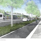 4 miles of raised, protected bike lanes part of TriMet's next light rail line