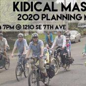 Kidical Mass 2020 Planning Meeting