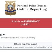Portland Police online crime reporting system now includes bike theft