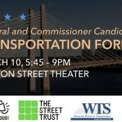 Mark your calendars for candidate forums on climate and transportation
