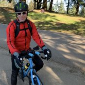 Man rides a century (and then some) in Mt. Tabor Park